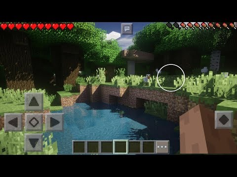 MINECRAFT PE 1.4 TOP 5 BEST WORKING SHADERS - TOP 5 BEST SHADERS FOR MINECRAFT PE 1.4 -  MCPE