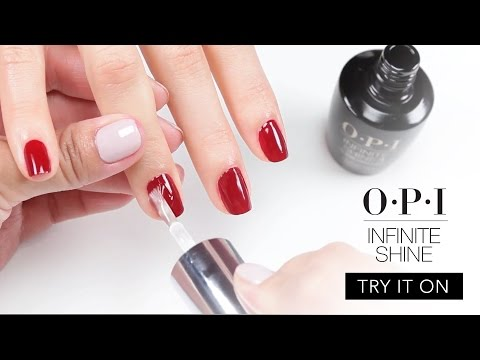 Try It On: OPI Infinite Shine
