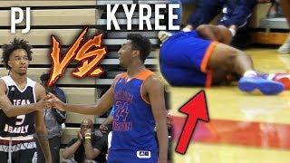 Kyree Walker GOES DOWN & FIGHTS THRU INJURY VS PJ FULLER! GAME WINNING 3!