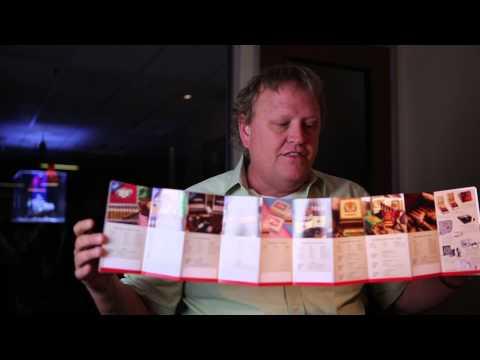 24 Panel Accordion Fold   Cool Custom Printing of The Week