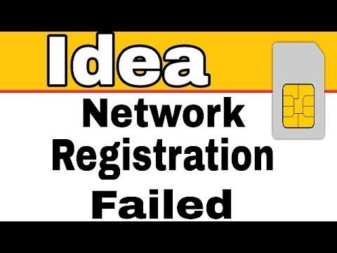 How To Fix Idea Sim Registration Failed Solution