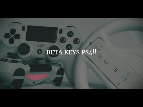 2 PS4 Games Beta sign up's!