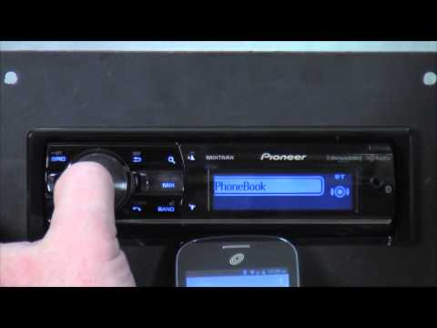 HowTo: Setup Bluetooth on a Pioneer DEH-X9600BHS