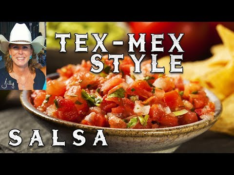 Tex-Mex Salsa Sauce Recipe ~ Easy Homemade Salsa in a Blender