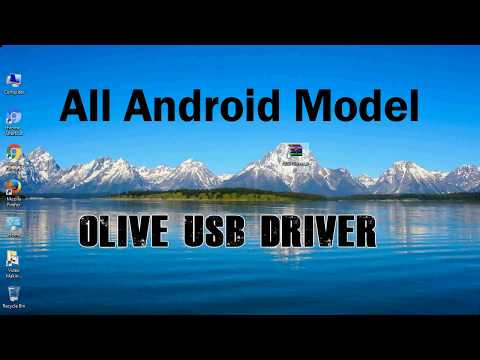 How to Install Olive USB Driver for Windows | ADB and FastBoot