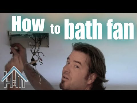 How to replace bathroom exhaust fan, easy!  The Home Mender