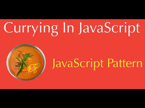 JavaScript Currying function ( method ) explained  Tutorial