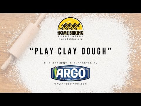 Home Baking Association - Play Clay Dough (Supported by Argo Cornstarch)