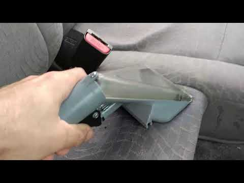 Getting almost any Stain out of your Cars Interior Yourself at Home Easy!!!