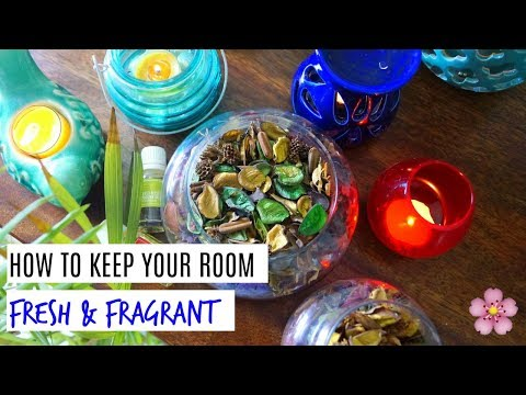 How to keep your room fresh | 5 easy ways to make your room smell good || Sneha Sakya