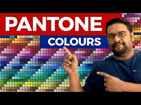 Learn What is Pantone Colour, Graphic Design