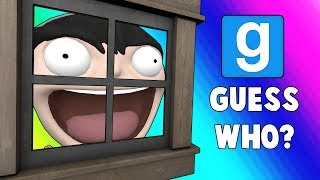 Gmod Guess Who Funny Moments - Try-Hard House Hiding Spot!