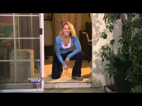 How to repair your sliding screen door
