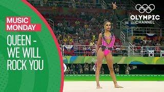 Margarita Mamun - We Will Rock You - Queen @Rio 2016   Music Monday