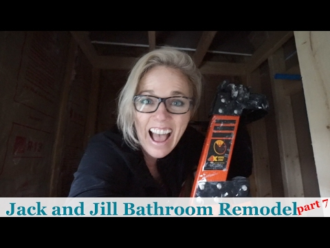 Jack and Jill Bathroom Remodel - (part 7)