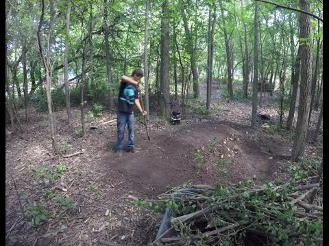 Making A BMX Track Time Lapse