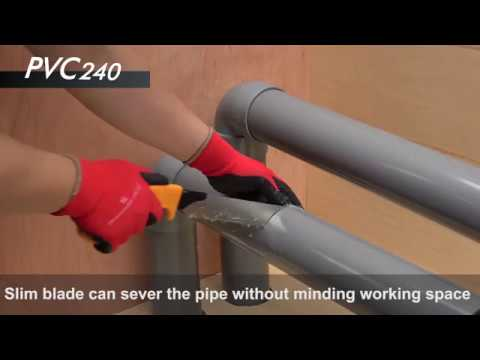 Japanese pipe saw/ How to cut PVC pipes with PVC-240