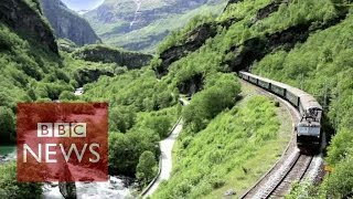 Flam: The most beautiful train journey in the world? BBC News