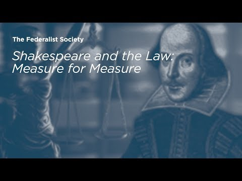 Shakespeare and the Law: Measure for Measure