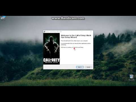 How to install the call of duty Black ops 1 on PC Simple Installation!!!