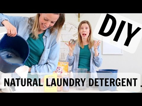 NATURAL LAUNDRY DETERGENT DIY