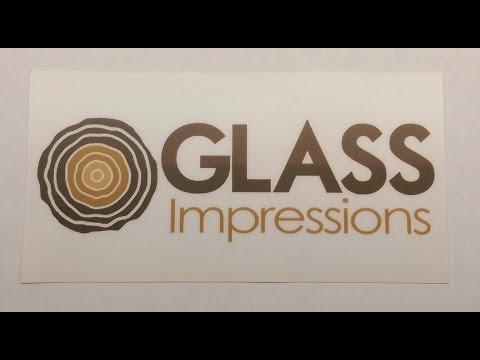 Glass Impressions Stickers!!!!!