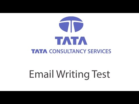 Email Writing Example 1 - TCS Verbal Test
