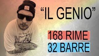 """NERONE chiude 168 rime* in 32 barre! - """"Il Genio"""" - CTR ITA #12"""
