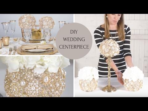 DIY Wedding Centerpiece | Wedding Decoration Ideas | DIY Bling Centerpieces