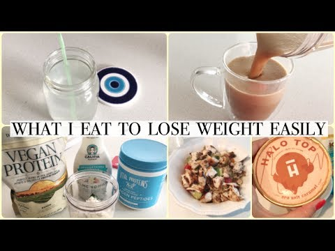 WHAT I EAT IN A DAY TO LOSE WEIGHT EASILY & EFFORTLESSLY!
