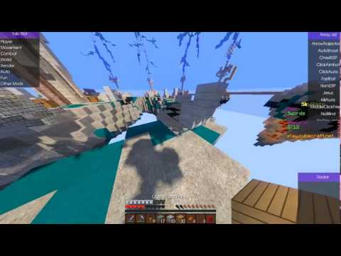 Cubecraft Hack _ Skywars Wolfram 1.10.X Fly and shader Highe Fps