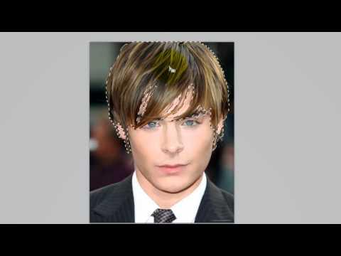 Photoshop CS5 Tutorial : Changing Hair Colour