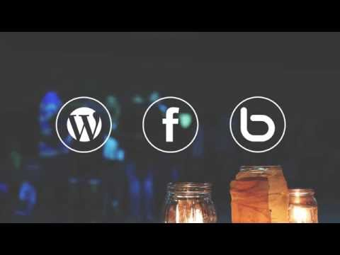 Free After Effects Template, Social Icons # 71 Facebook, Wordpress, Bebo