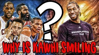 The SECRET To Why Kawhi Leonard Started Smiling