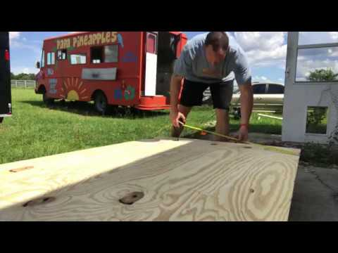 how to build a food truck floor