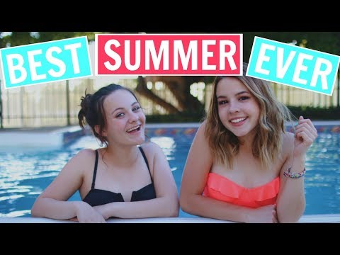 HOW TO HAVE THE BEST SUMMER EVER!! - Summer Bucket List 2017