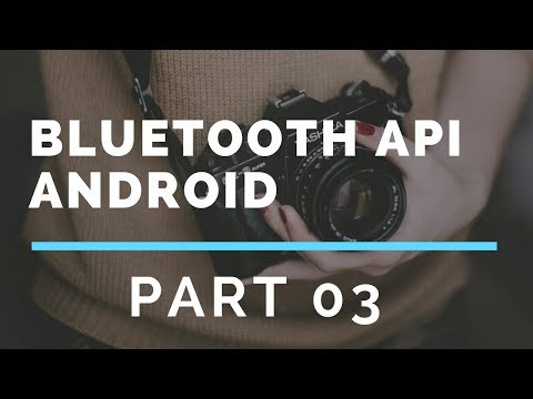 Bluetooth API in Android Studio Part 3 (Paired Devices)