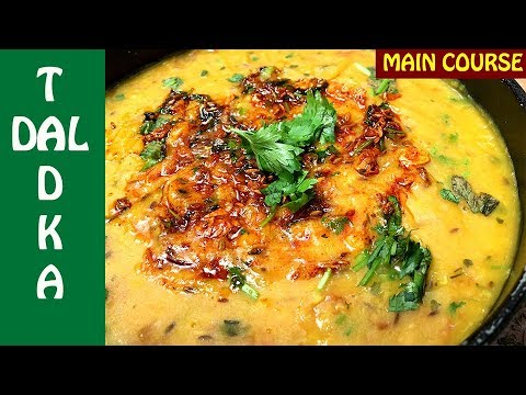 Dal Tadka Recipe | Dhaba Style Dal Tadka