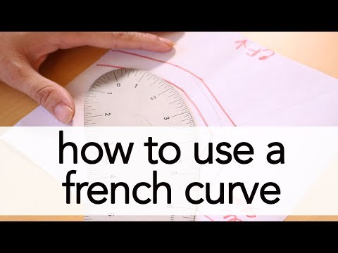 How to Use a French Curve   Vintage on Tap