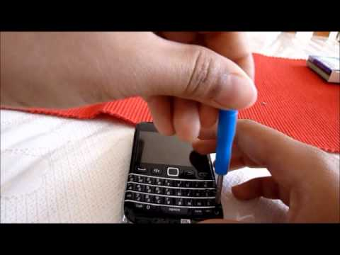 How to change the backlight of a blackberry keyboard part 1