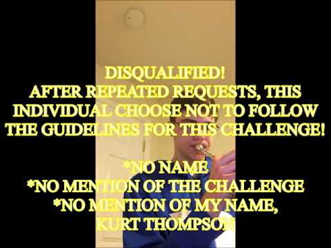 challenger jane or john doe 2 DISQUALIFIED mission impossible trumpet challenge