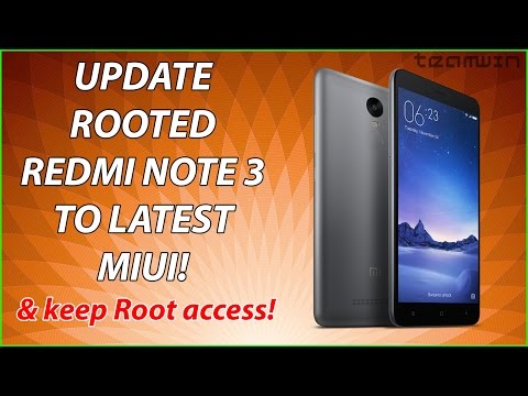 How to update rooted Xiaomi device with TWRP recovery !