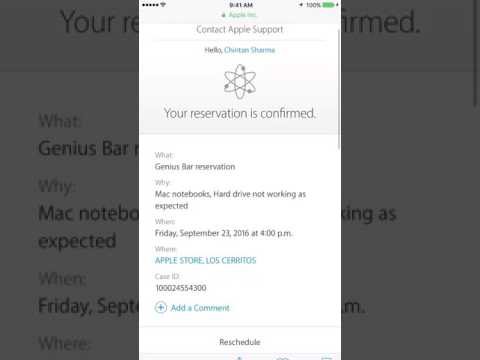 How to Make an Appointment at the Apple Store Part 2  Updated tutorial