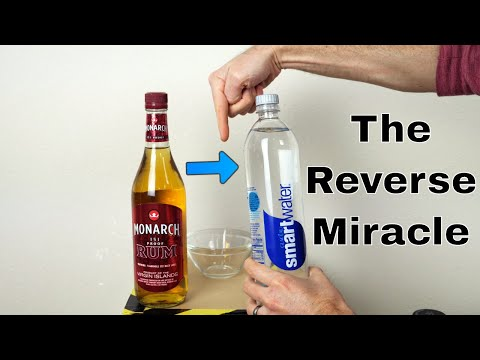 Is it Possible to Turn Alcohol Into Pure Water? (I Almost Burned Down my Garage)