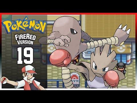Pokemon Fire Red: Part 19 - Saffron City Fighting Dojo