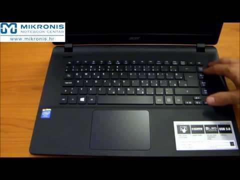 Unboxing Acer Aspire ES1 511