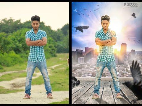 Photoshop CC | Tutorial Photo Manipulation Effects Creative movie Poster Design