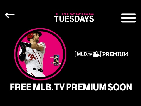 MLB.TV Free T-Mobile Tuesday