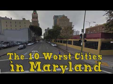 The 10 Worst Cities In Maryland Explained