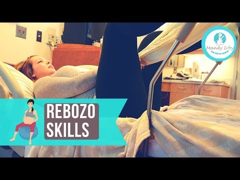 How to Have a Faster Labor with a REBOZO | Natural Labor and Induction